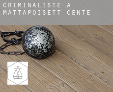 Criminaliste à  Mattapoisett Center