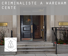 Criminaliste à  Wareham Center